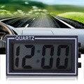 LCD Lighted Digital Car Clock Auto Car Truck Dashboard Date Time Calendar Black Vehicle Electronic Digital Clock