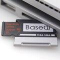 BaseQi алюминиевый Stealth drive микро SD/TF карта адаптер расширения памяти SD кардридер для microsoft Surface Book 13