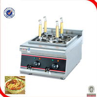 Free shipping 220V commercial 4 baskets electric noodle pasta cooker Electric cooker Commercial soup powder furnace