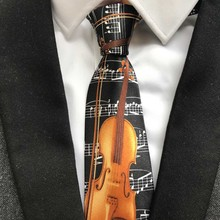 Cello Musical Instrument Ties