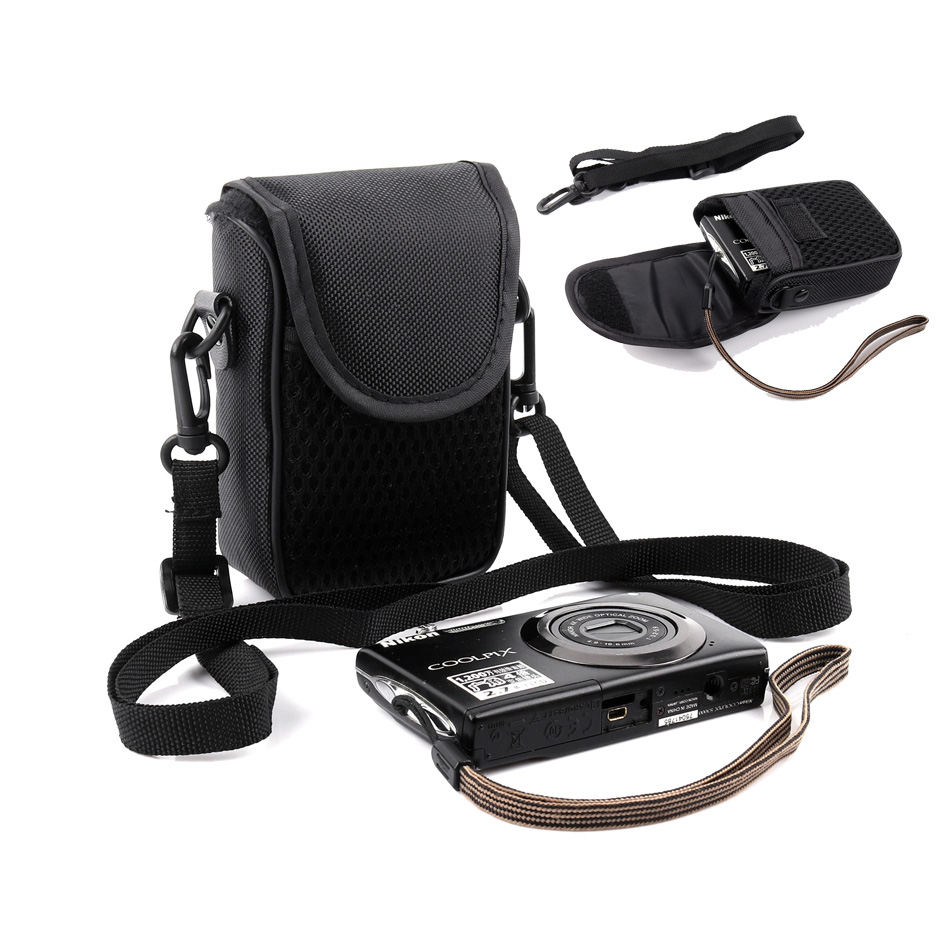Neoprene Soft Camera Case Pouch For Nikon COOLPIX S7000 S2900