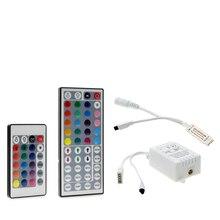 24 Keys / 44 Keys RGB IR/Mini Remote Controller DC12V Controller For SMD3528/5050 LED RGB Strip Lights Mini Controller 24 key