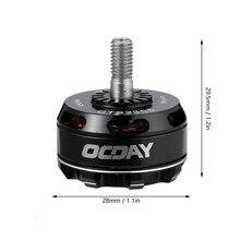Venda quente OCDAY GTS2305 2450KV Motor Brushless 3-5 s Para V Corrida RC Zangão Quadcopter