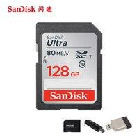 Original SanDisk Class 10 SD Card 128G 64GB 32GB 16GB Ultra Extreme High Speed SDHC SDXC