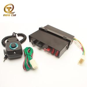 Автомобильный звуковой сигнал 12 В 200 Вт, многоканальный автомобильный звуковой сигнал, специальная полицейская сирена 9, звук, супер громкий...