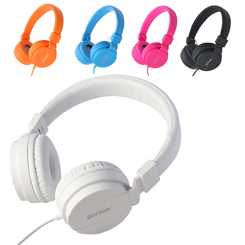 GS778 headset original headphones 3 5mm plug music earphone for phone mp3
