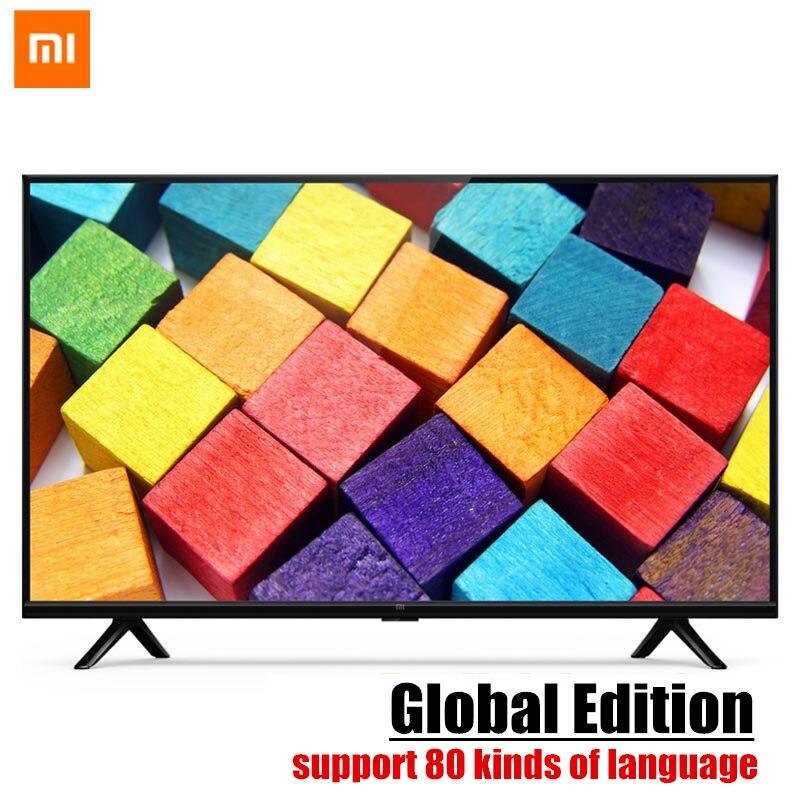 (Global Edition)Original Xiaomi Smart TV 4A 32 inch HD LCD Screen Television 1GB+4GB 64-bit Cortex Quad Core TV WIFI HDMI USB цены