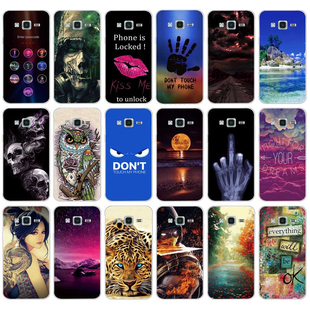 Case For Samsung Galaxy J1 J2 J3 J5 J7 2015 Cover For Samsung J1 Ace j1 mini Case Soft TPU For For Samsung J1 J3 J5 J7 2016 Case image