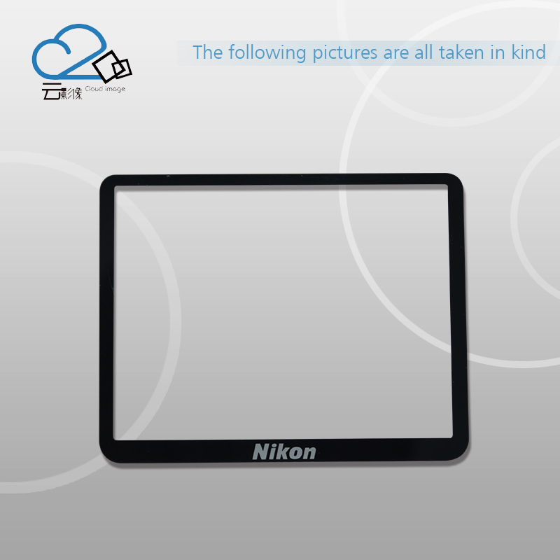 D3200 LCD Screen Window Display (Acrylic) Outer Glass for Nikon Screen Protector + Tape