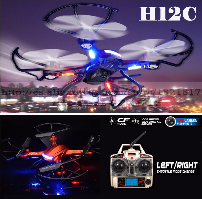 JJRC H12C RC helicopter Drone with 2.0MP Camera 2.4G 4CH Headless Mode One Key Auto Return RC Quadcopter toys VS MJX X101 jjrc upgraded h5c headless mode one key return rc quadcopter helicopter drone with 2mp camera rtf 2 4ghz
