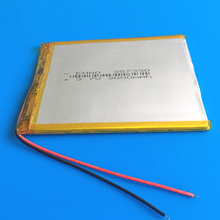 3 7V 3000mAh 357390 polymer lithium ion battery Li ion rechargeable Lipo battery for tablet pc
