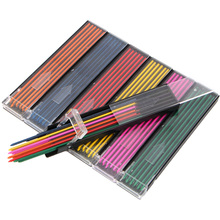 2.0 mm Mechanical Pencil color lead Refill 12mm red pink yellow bule orange green Drawing Colored