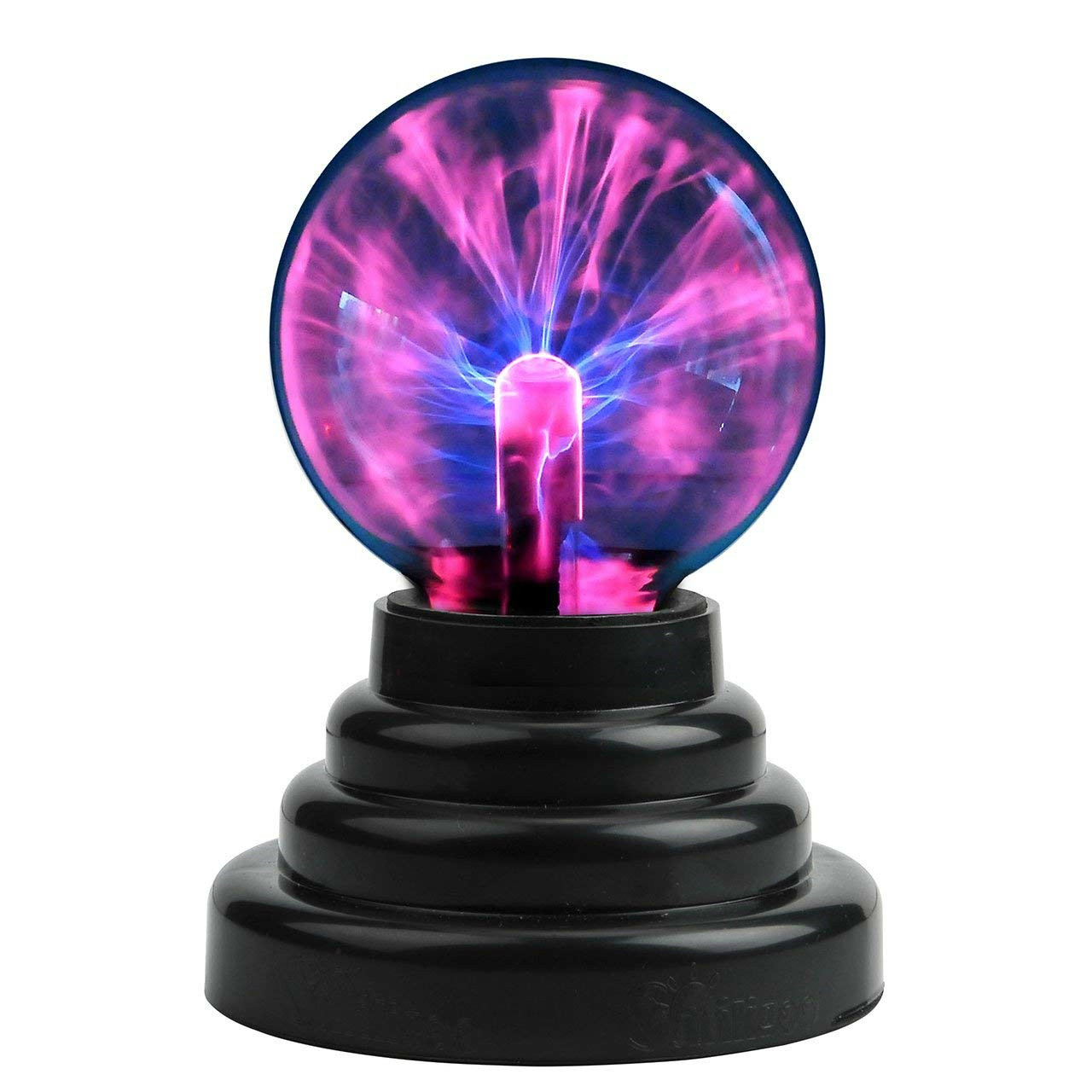 New Magic Plasma Ball Novelty Light Usb Electrostatic Sphere Light Bulb Touch Night Light Toys For Kids Adult Gift