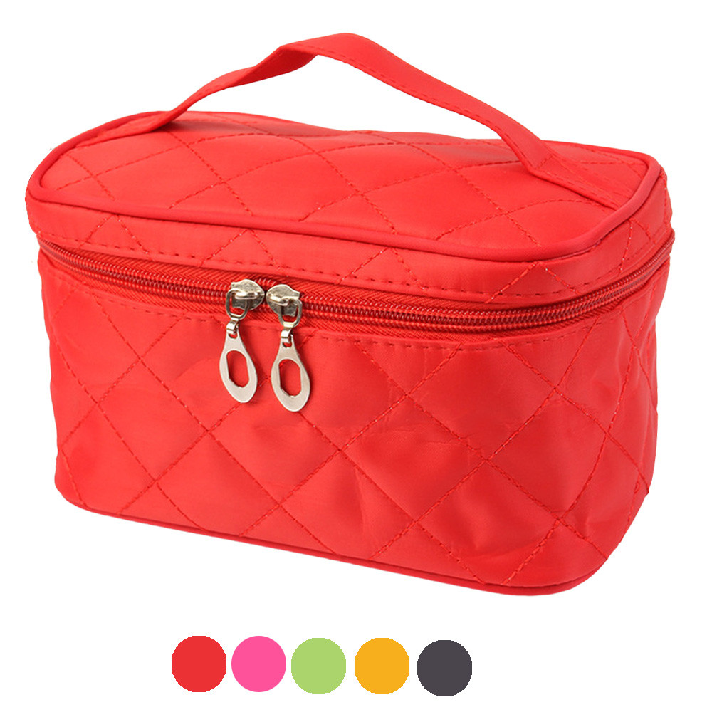 Blusas 2017 Cosmetic Bags Portable Vintage Storage Bag Zipper Casual Travel Organizer Large Women Toiletry Bag Beauty Case spark storage bag portable carrying case storage box for spark drone accessories can put remote control battery and other parts