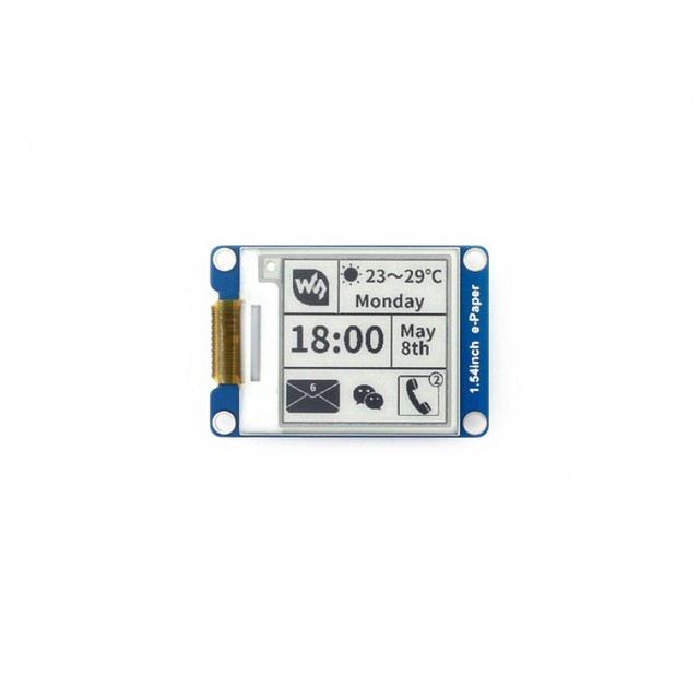 Waveshare1.54 дюймовый электронный бумажный Модуль 200x200, 2,9 дюйма электронная бумага 296x128, 4,2 дюйма электронная бумага, 400x300 электронные чернила, SPI интерфейс для Raspberry PI