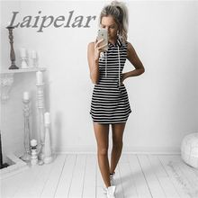 2018 Hot Women Sexy Summer Evening Party Casual Sleeveless Dresses  Ladys Mini Dress Laipelar