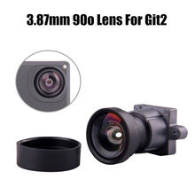 Gitup Lens New F2.8 3.87mm 16M 90 Degree Wide Angle Lens Replacement No Fisheye IR Lens For GITUP Git2 Action Camera
