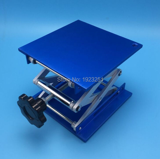 Free shipping,Professional Lab support jack size200x200mm ( 8inches) Aluminum Oxide  Lifting Table Raising Platform,Top quality