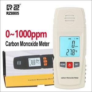 RZ ручной детектор утечки газа анализатор ЖК-тестер окиси углерода Mete 1000ppm CO Высокоточный газовый монитор GM8805