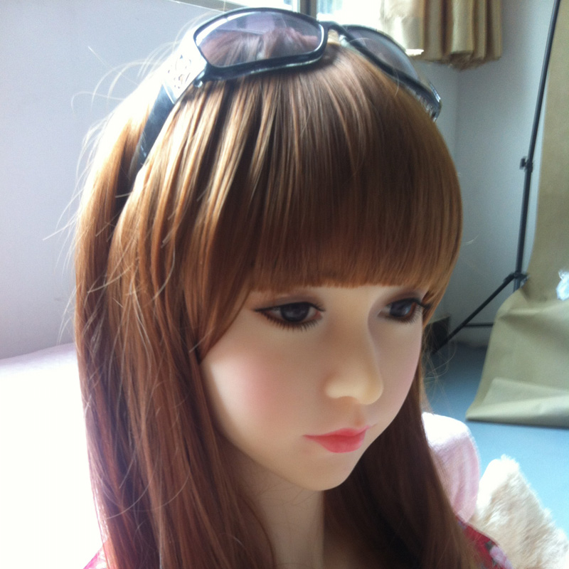 NEW! Top quaity male sex doll head for 161-165cm sex robot dolls with wig oral real sex toy for men