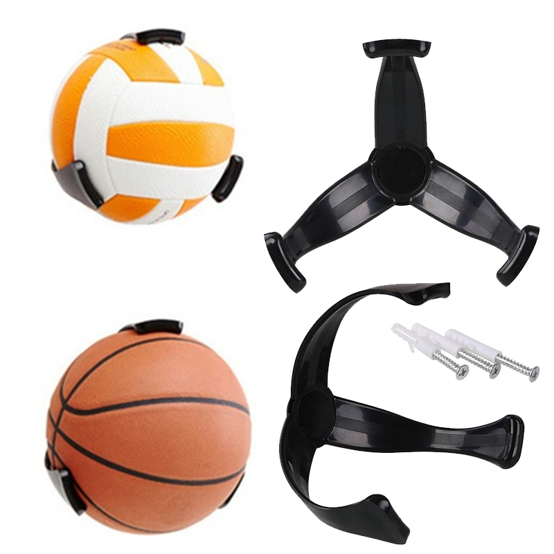Football / Rugby / basketball wall mounted storage rack ball organizer personalized Ball Stand Holder home decoration accessori