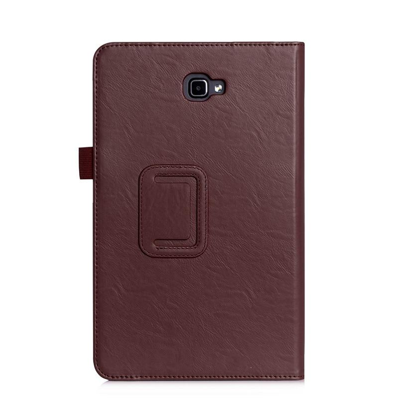 Funda de cuero de alta calidad para Samsung Galaxy Tab A A6 10.1 2016 - Accesorios para tablets - foto 3