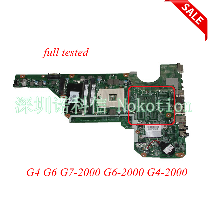 680568-501 Laptop Motherboard For HP Pavilion G4 G6 G7-2000 G6-2000 G4-2000 DA0R33MB6E0 680568-001 Main board haoshideng 680568 001 680568 501 mainboard for hp pavilion g4 g6 g7 g4 2000 g6 2000 laptop motherboard da0r33mb6e0 da0r33mb6f1