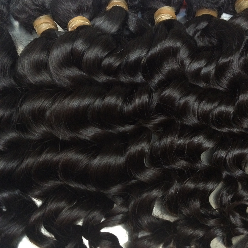 Mayflower 10 Bundles Virgin Hair Malaysian Natural Wave Full Cuticle Aligned Natural Color Can Be Dye From 12'-26