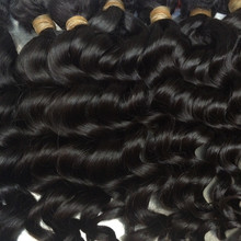 Mayflower 10 bundles Virgin hair Malaysian natural wave Full cuticle aligned natural color can be dye From 12′-26″ in stock