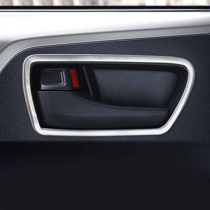 Positive Feedback is very important to us.Pls contact us before you leave Neutral or Negative feedback About Vtear For Toyota RAV4 ... & Vtear For Toyota Rav4 2016 Car Trim Interior Door Handle Bowl Cover ...