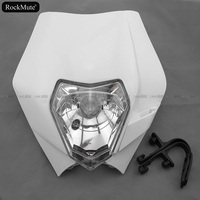 HeadLight Assembly Headlamp Mask For KTM 690 ENDURO R 2009 2010 2011 Motorcycle Accessories Head Light