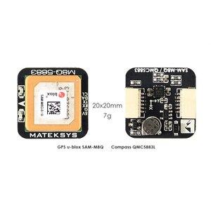 Image 4 - Matek systèmes originaux Ublox M8Q 5883 GPS et QMC5883L, avec Module de boussole pour Drone de course FPV, longue portée