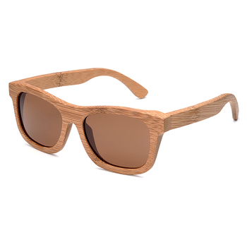 BOBO BIRD Square Men Sunglasses Ladies Polarized UV Protection Eyewear Women Bamboo Sun Glasses lunettes femmes solaire 2