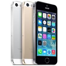 "2016 100{e3d350071c40193912450e1a13ff03f7642a6c64c69061e3737cf155110b056f} Original Desbloqueado 5S 5S iphone5S Teléfono Inteligente 4.0 ""640x1136px A7 Dual Core 16 GB 32 GB ROM IOS 9 3G WIFI 8MP 1560 mAh Utilizado"
