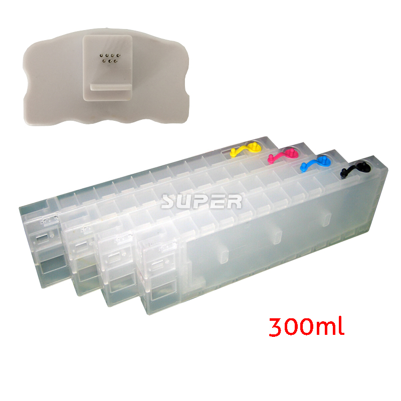 Large format inkjet cartridges empty for epson 4450 4450C with chips and resetter on high quality long cartridges lc101 empty for brother mfc j650dw j870dw j875dw printer with arc chips on high quality