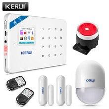 2017 Kerui W18 Беспроводной Wi-Fi GSM IOS/Android App Управление ЖК-дисплей GSM SMS Защита от взлома Системы для дома безопасности