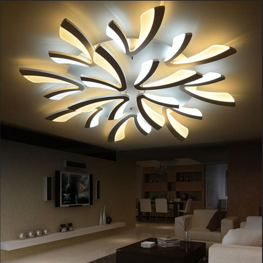 Moderne led plafondlamp plafondlamp luster plafond for Kamerlamp plafond