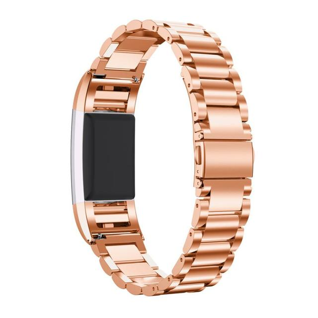 HOT New Fashion Genuine Stainless Steel Bracelet Smart Watch Band Strap For Fitbit Charge 2 high quality Smart Watch DEC22