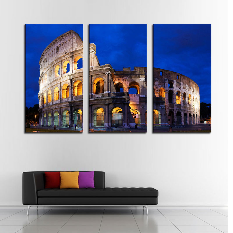 3 Picture Combination Art Hd Print Picture Home Decor Wall