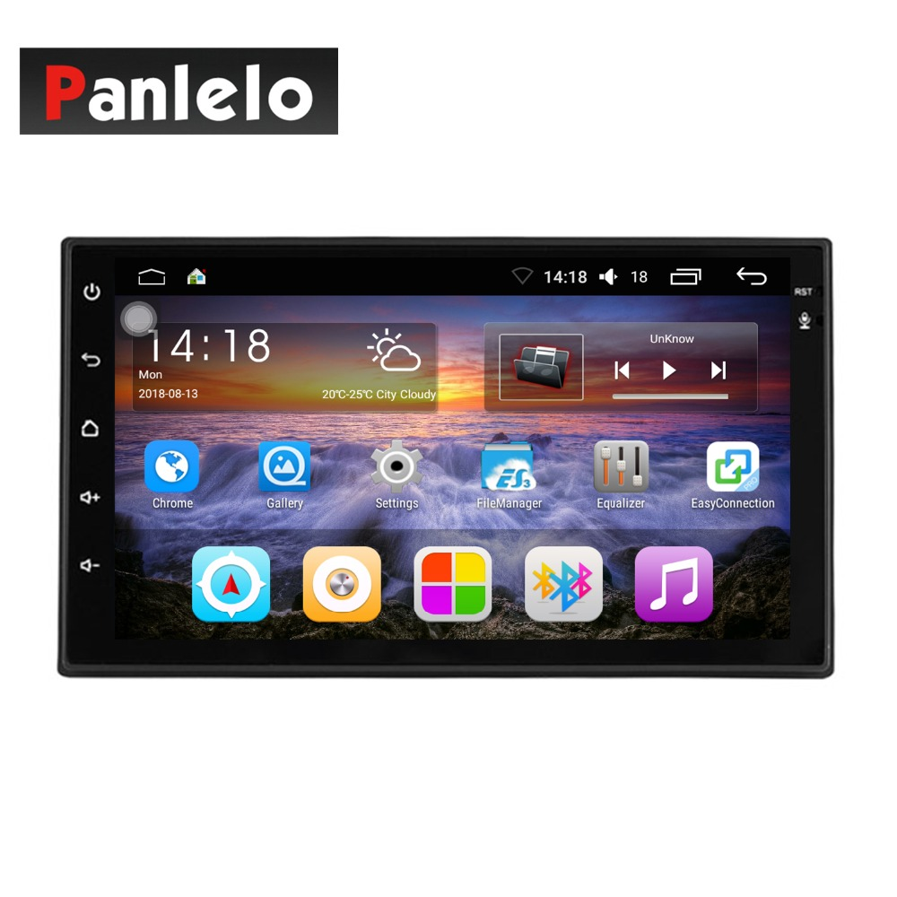 S6 2 Din Car Stereo Android Quad Core 7 inch GPS Navigation Auto Radio (AM/FM) Mirror Link Bluetooth Music Video 1GB RAM 16GBROM