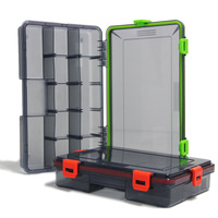 ILure Fishing Tackle Boxes 2 Colors Fishing Accessories Case Fish Lure Bait Hooks Plastic Carb Rock