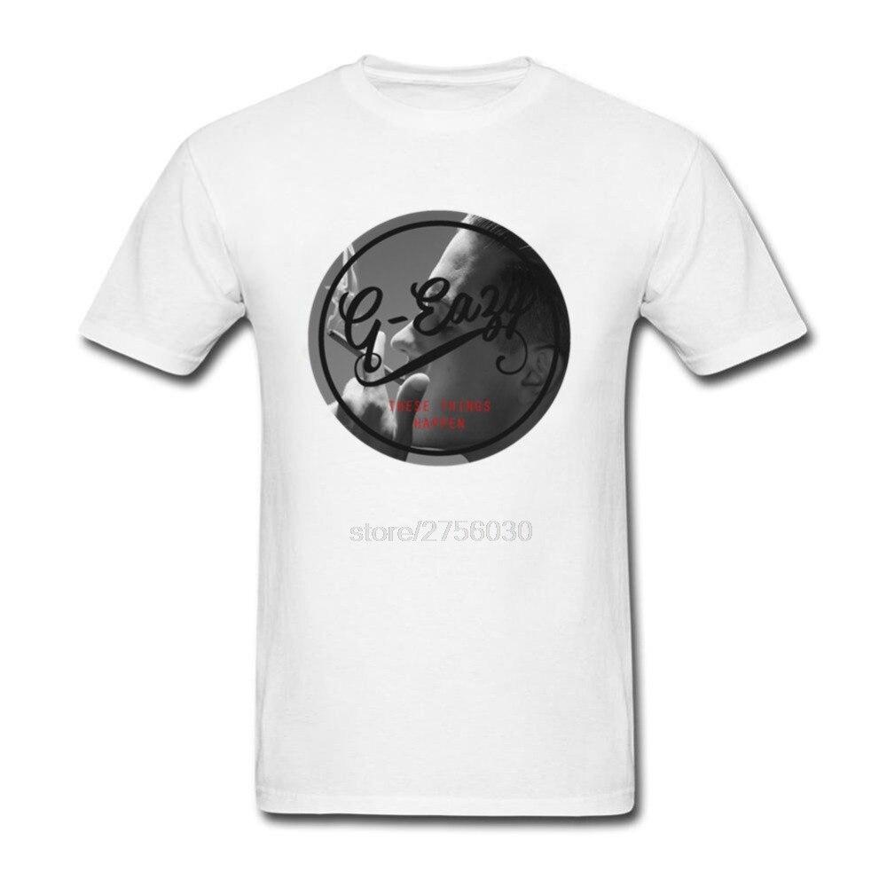 2018 Fashion Man T shirt g-eazy Printed Tees g-eazy custom tshirt dsq eye hip hop fear of god skam pokemon mma for twin peaks