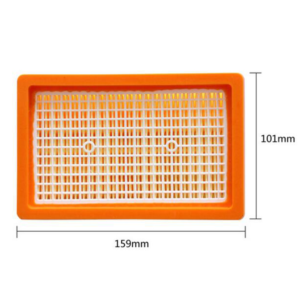 2pcs Flat Pleated Filter For Karcher Wd4 Mv4 Mv5 Mv6 Wd5 Wd6 Wet And Mv 4 Premium Vacuum Cleaner Dry Parts 2863 0050 Hepa Filters In From Home