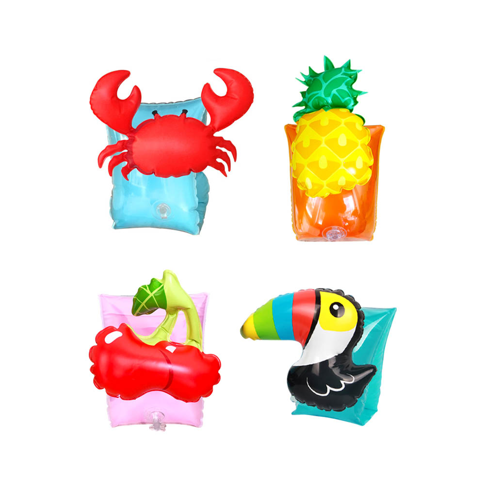 1 Pair Summer Inflatable Arm Float Baby Swimming Float Children Air Sleeves Circle Swimming Safety Training Kid Pool Float Toy