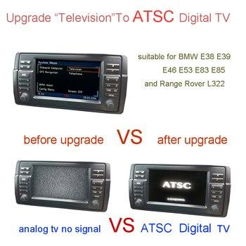 ATSC Digital TV For BMW E38 E39 E46 X5 E53 X3 E83 Z4 E85 ,Range Rover L322,Rover 75,MG ZT / MG ZT-T