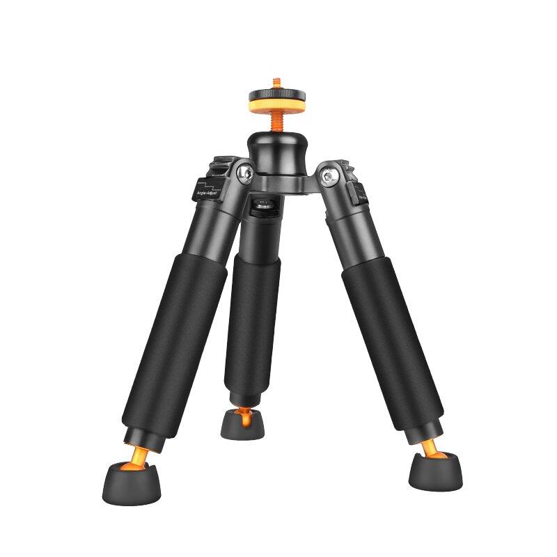 Miniaturní stativ lehce vyzbrojený Era Q178 Micro-krátký přenosný SLR fotoaparát Monopod Podpora Stolní telefon Stativ Head stativ stativ