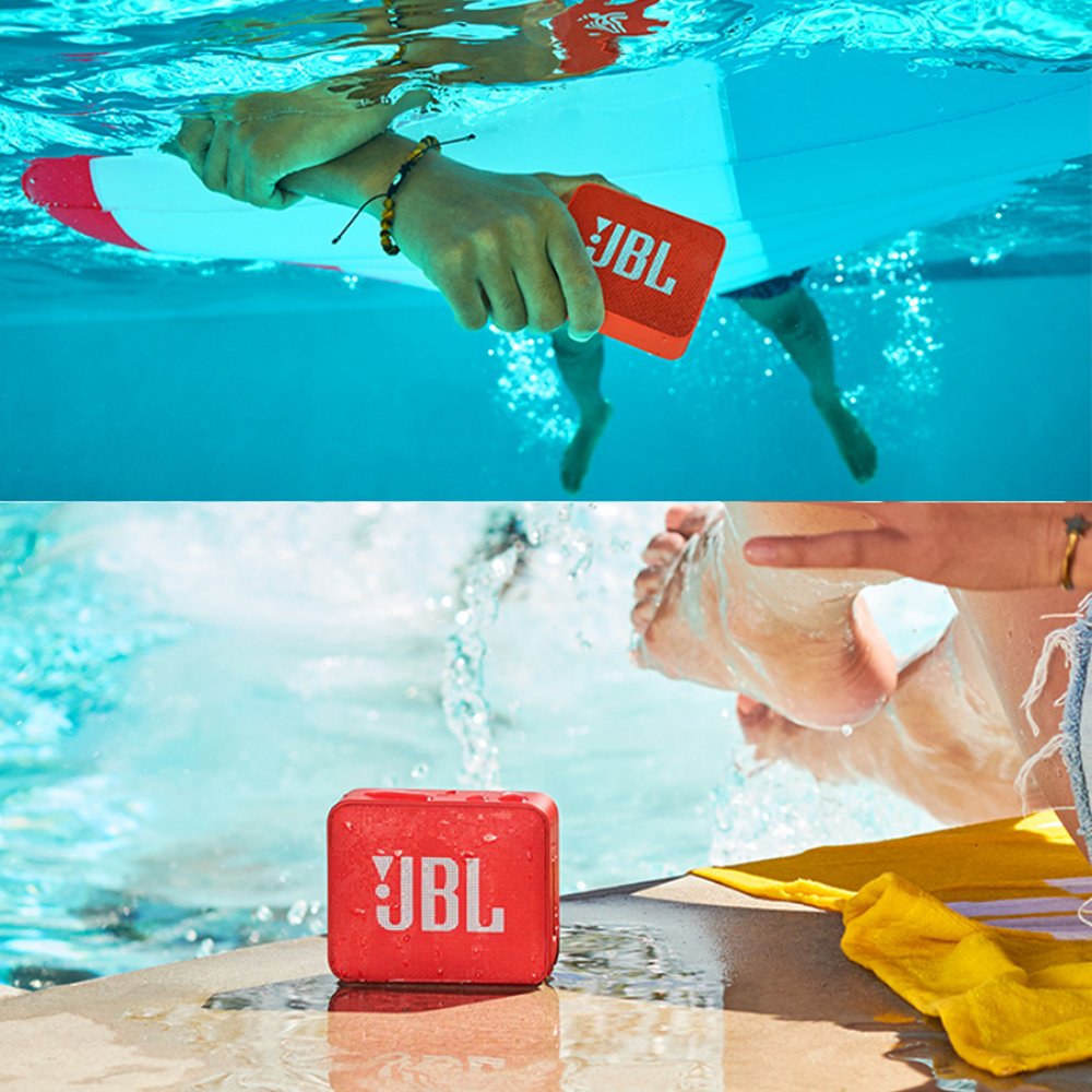 JBL GO2 Wireless Bluetooth Speaker With IPX7 Waterproof Rechargeable Battery And Mic 6