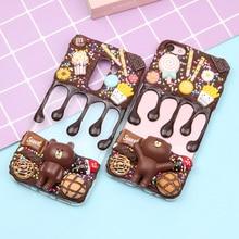 цены на Simulated Cream Phone Case For Xiaomi Redmi 5 5A 5 Plus 6 6A 6 Pro S2 Note 3 4 5 Pro 5A Prime Note 6 Pro Shipping Free  в интернет-магазинах