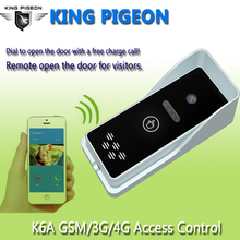3G GSM Access Control Apartment Intercom Security System One key to dial Door Control Remotely by free call K6S