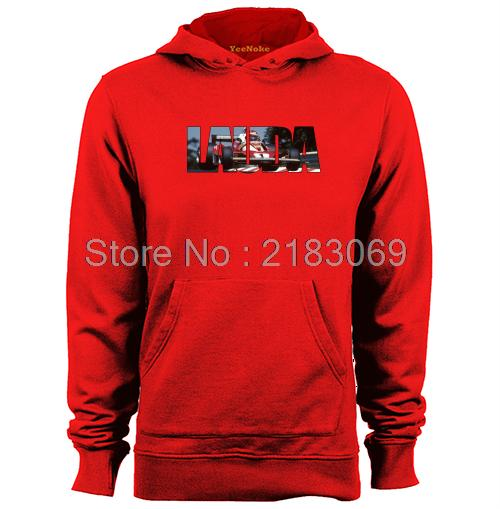 5e5a4c629dad Niki Lauda World Champion Mens   Womens Letters Graphic Hoodies-in ...